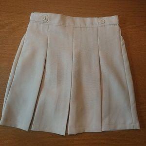 Dockers Pleated Khaki Skort/School Uniform